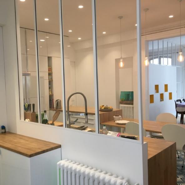 Rénovation d'un appartement haussmannien de 160m2 à Paris 10e / Gestion des flux