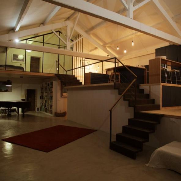 Concept Architectural : Rénovation d'une grange en Loft d'habitation à Arles