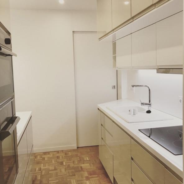 Rénovation totale d'un appartement moderne de 80m2, Paris 15e